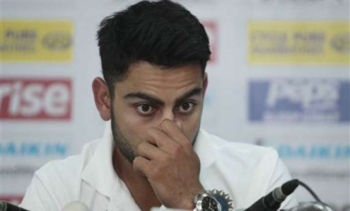 we need to go back to drawing table kohli