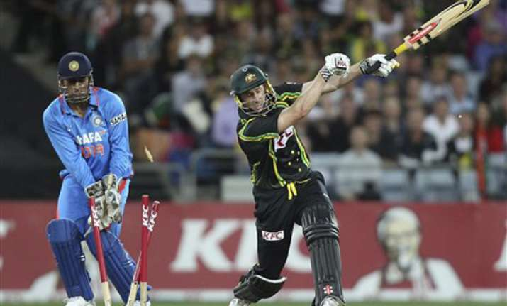 we are looking to make it 2 0 tomorrow says hussey
