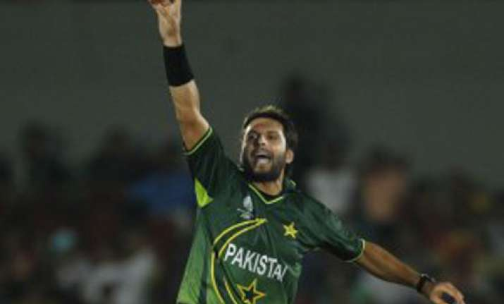 we must bowl well bat well against lanka says afridi