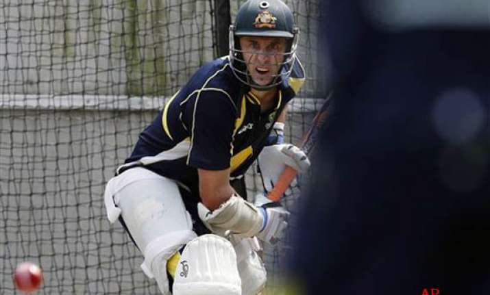we ll give dhoni a tough time hussey