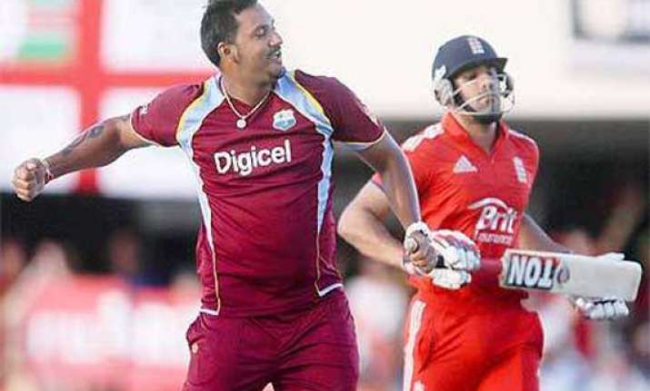west indies defeats england in first odi