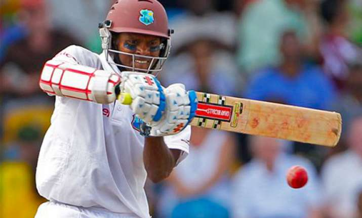 west indies leads aussies by 405 runs on day 2 of 1st test