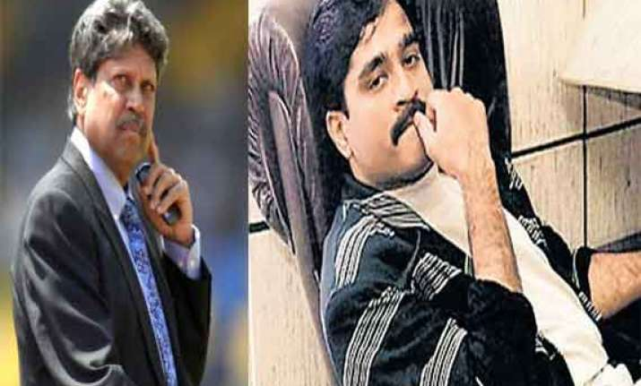 when kapil dev ordered dawood to get out of team india
