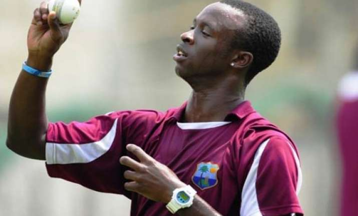 windies speedster escapes serious injury in accident