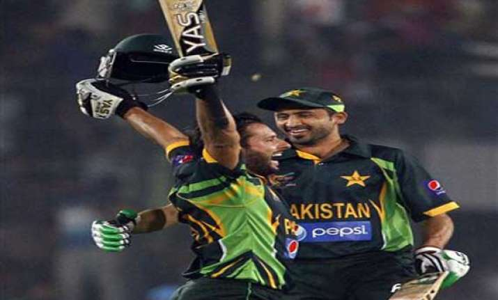 with dhoni s arrival india will be tough to beat afridi