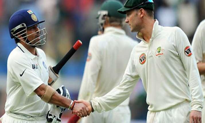 won t show any sympathy for tendulkar says michael clarke