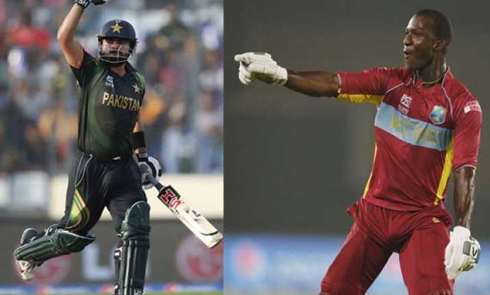 world t20 confident west indies face upbeat pakistan in