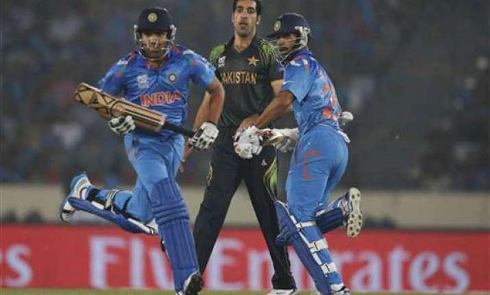 world t20 india vs pakistan scoreboard