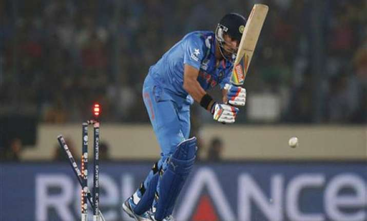 world t20 matter of one innings before yuvi gets back to