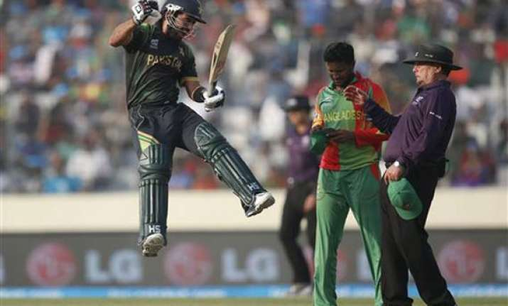 icc world t20 shehzad ton sets up easy win for pakistan