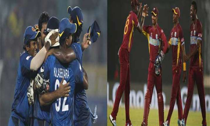 world t20 with commonalities sri lanka west indies brace