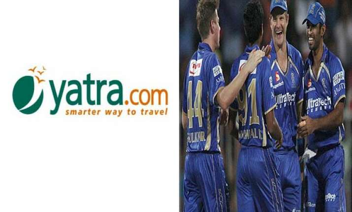 yatra.com becomes rajasthan royals official travel partner