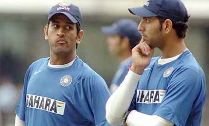 yuvi agrees with dhoni says hectic schedule drains players