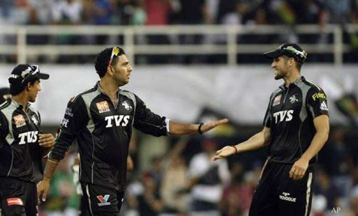 yuvraj has a tricky business in hand