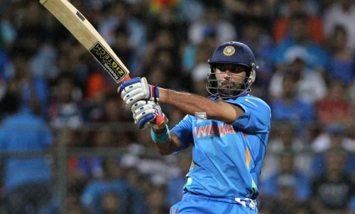 yuvraj singh fit to play in may after cancer treatment