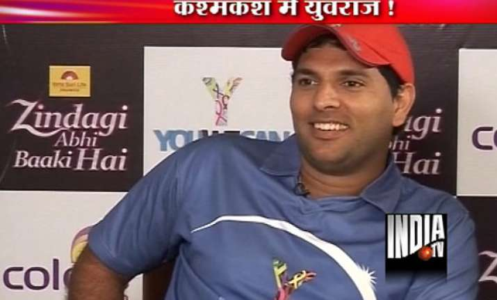 yuvraj singh counting hours for comeback match