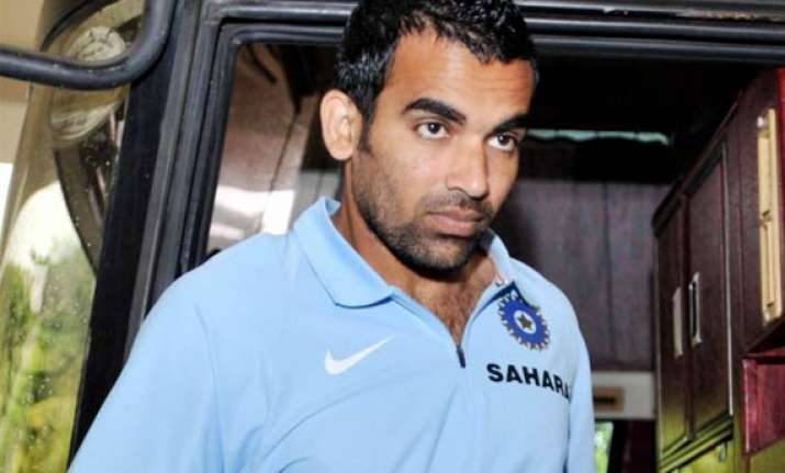 zaheer khan s fitness remains a concern