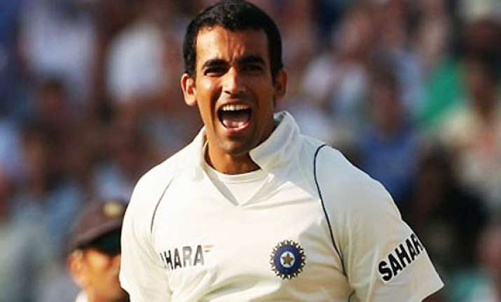 zaheer prepared and raring to go at aussies