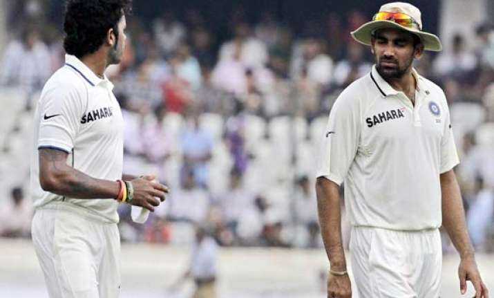 zaheer sreesanth out of west indies test series