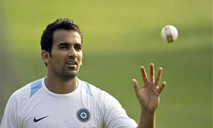 zaheer still needs to do lot of bowling to get fit ganguly