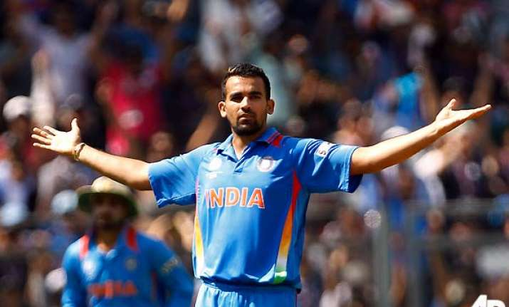 zaheer to bowl a maiden over soon