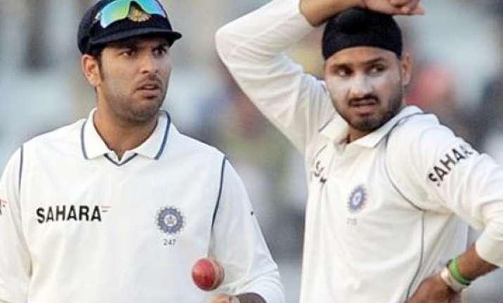 zaheer yuvraj harbhajan dropped for fourth test
