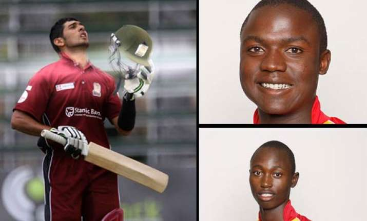 zimbabwe names 8 new caps for tri series