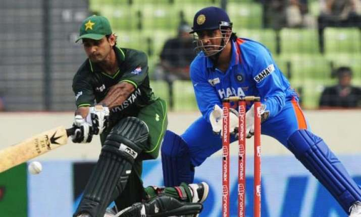 champions trophy traditional rivals india pakistan to meet