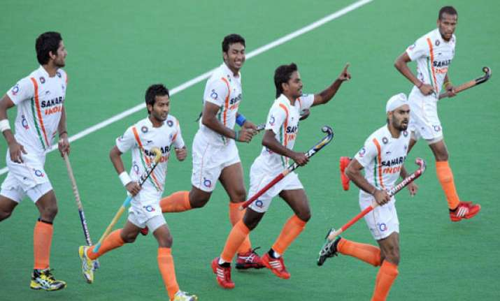 asia cup india beat south korea qualify for semis