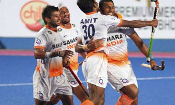 asia cup hockey india eye title win