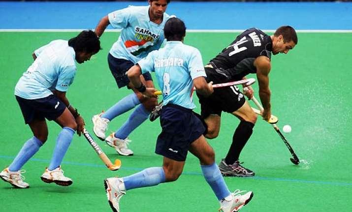 azlan shah hockey new zealand crush india 7 3