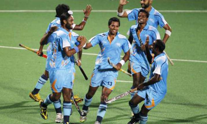 easy start for indian men in hockey olympic qualifier