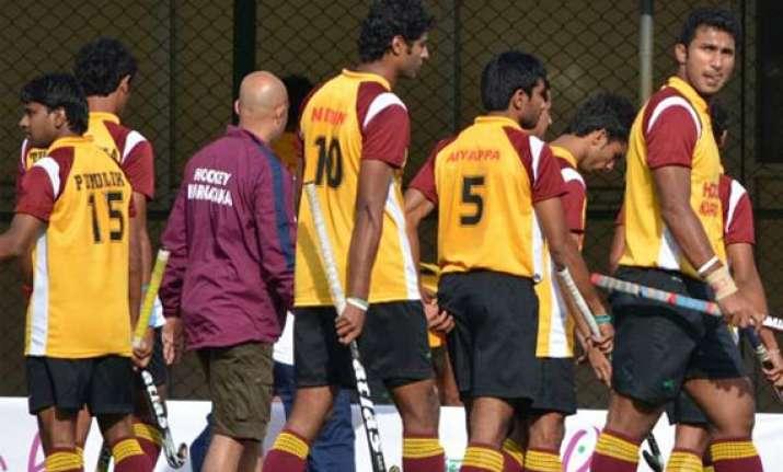 hockey nationals air india karnataka among last four