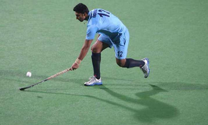 hockey world league india crush oman 9 1