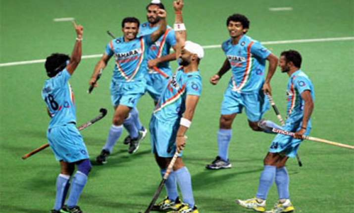 hockey world league indian men beat bangladesh move into