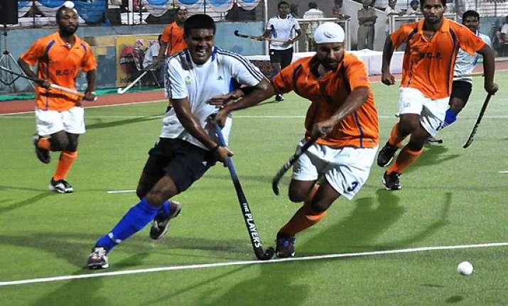 hockey indian oil air india enter final