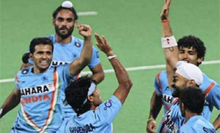 india outclass china 4 0 in hockey world league