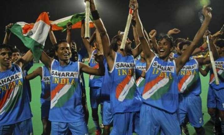 indian junior hockey team eyes winning start