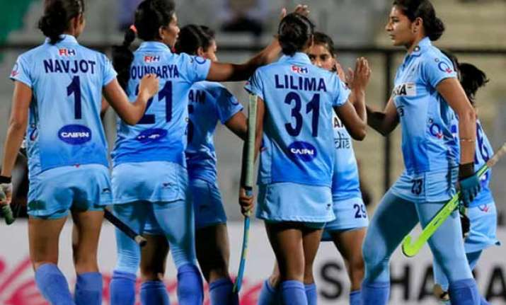 indian women s hockey camp from saturday