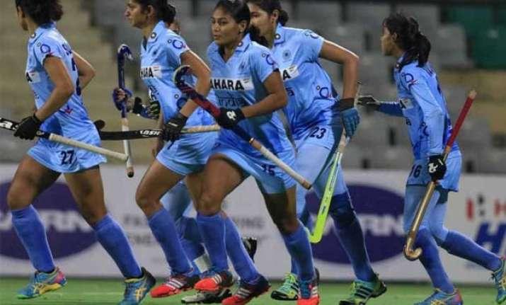 indian women beat poland to win hockey world league round 2