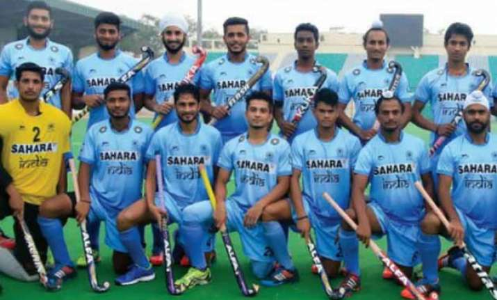indian hockey juniors outplay new zealand 3 0