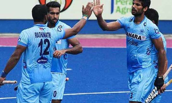 india beat spain 2 0 in europe hockey tour