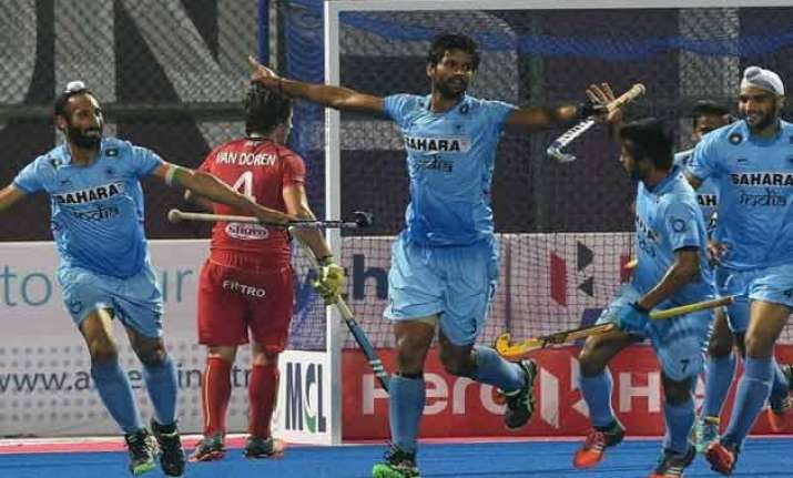 misfiring india post first win in azlan shah beat canada
