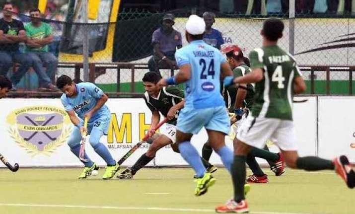 johor cup india trounce pakistan 6 0
