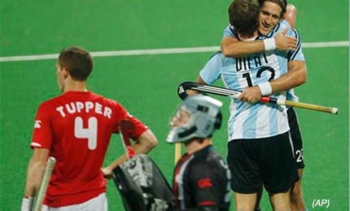 argentina beat canada 4 2 to play india for seventh place