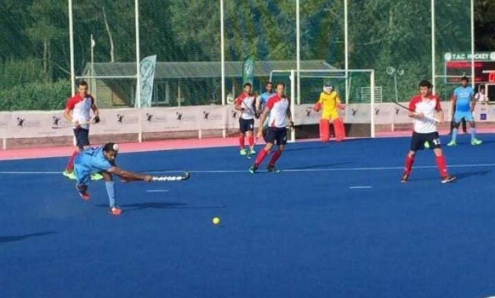 hockey india clinch second successive win against france