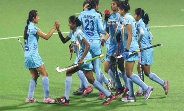 indian women maul ghana 13 0 in fih hockey world league