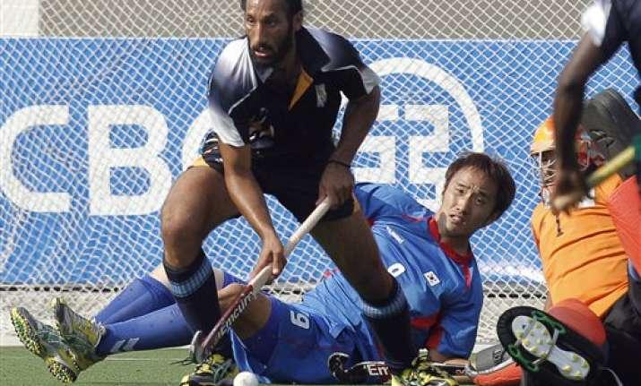 asiad india gets hockey bronze beat south korea 1 0
