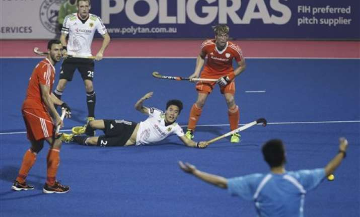 champions trophy netherlands down germany