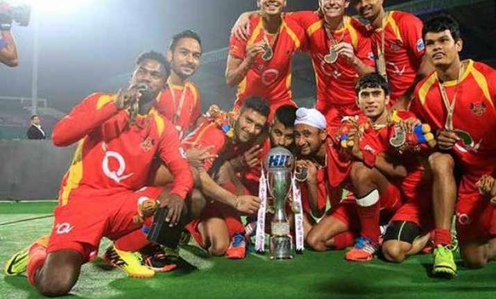 ranchi rays beat punjab warriors to emerge hockey india